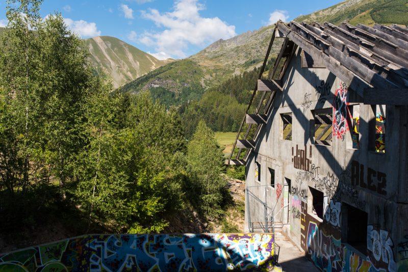 Station De Ski Abandonnée - Saint Honoré 1500