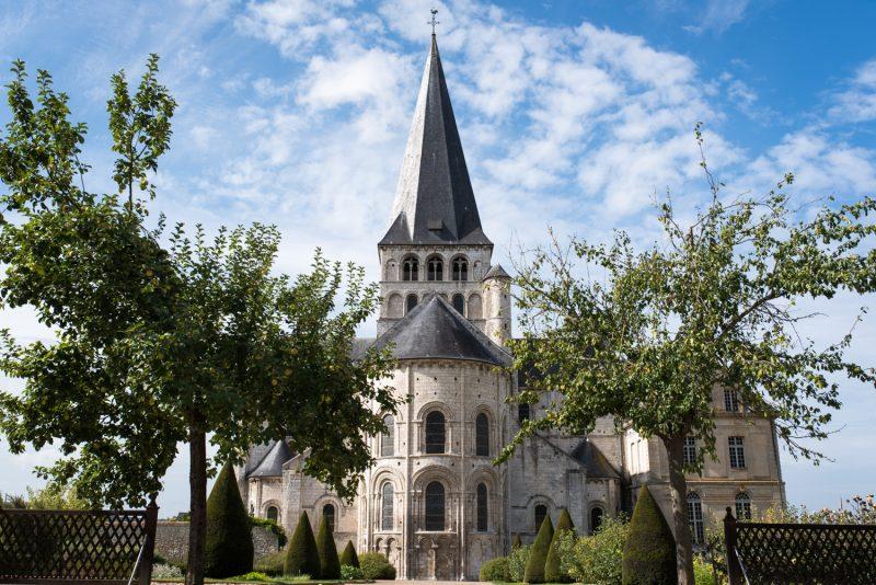Abbaye Saint-Georges à Saint-Martin-de-Boscherville