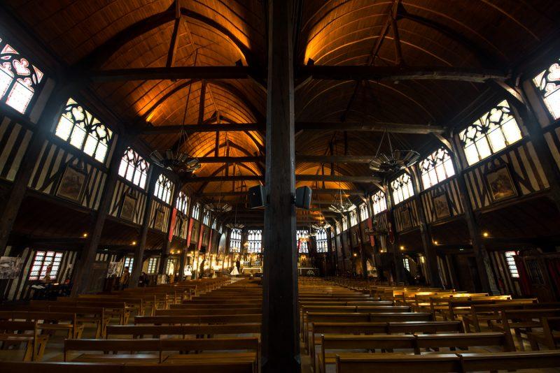 Eglise Sainte Catherine De Honfleur Et Sa Double Nef
