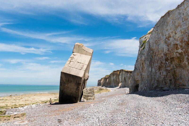 Le Bunker Au Pied Des Falaises De Quiberville