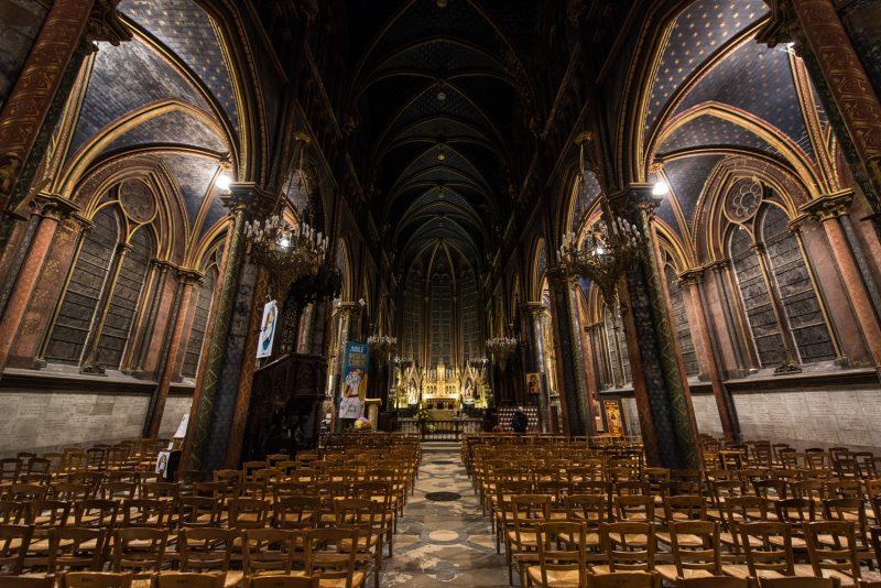 Eglise Notre-Dame De Bonsecours, De Nuit
