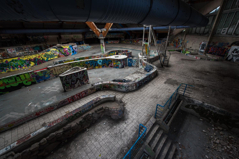 Centre aquatique abandonn piscine oc ade monsieur et for Piscine barentin