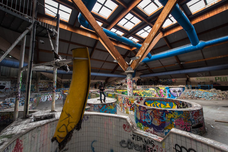 Centre aquatique abandonn piscine oc ade monsieur et for Piscine a rouen