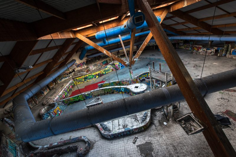 Centre Aquatique Abandonné - Piscine Océade - Rouen