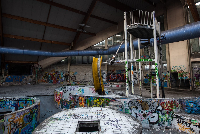 Centre aquatique abandonn piscine oc ade rouen for Piscine a rouen