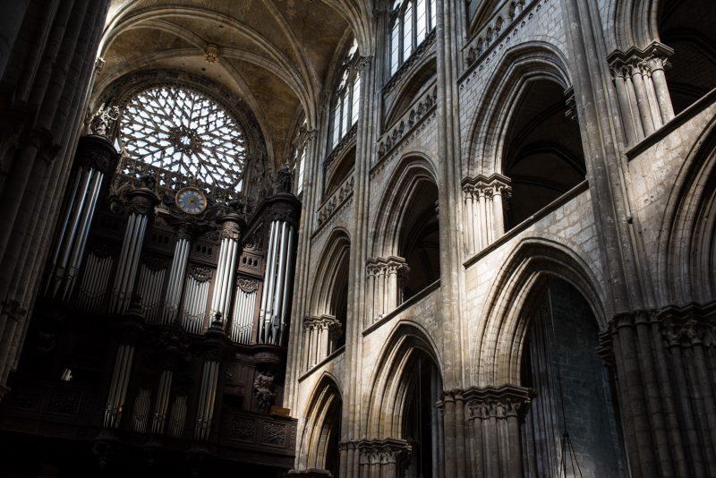 L'orgue De La Cathédrale De Rouen