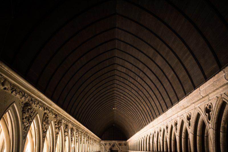Le Cloître Mont Saint Michel
