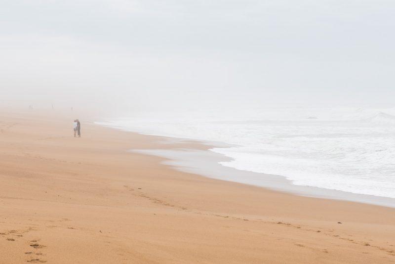 Vacances En Amoureux - Sur Les Plages De Vendée En Hiver
