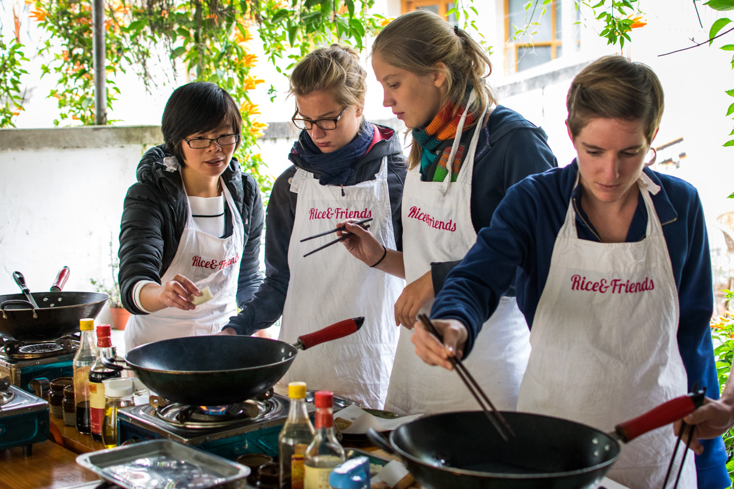 Rice And Friends – Ecole De Cuisine