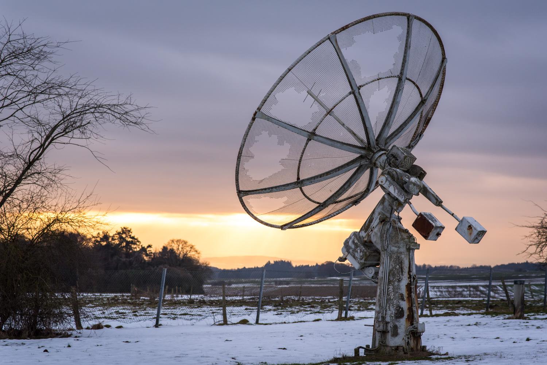 Station Radar Abandonnée En Belgique