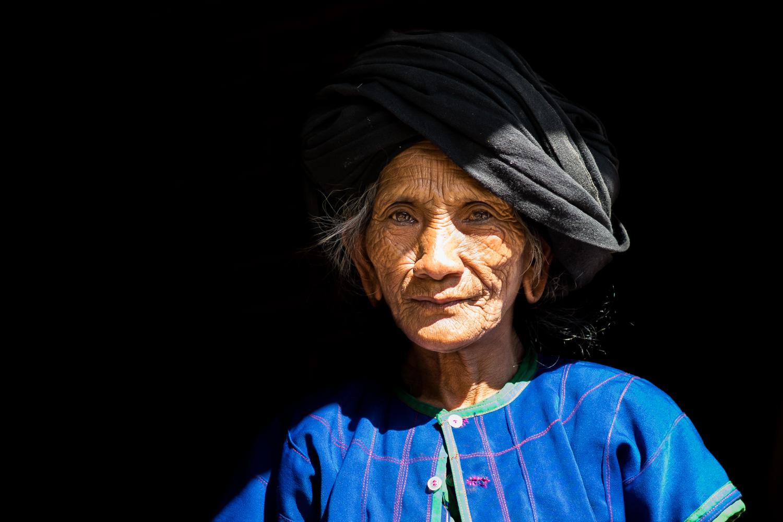 Visages d'Asie - La vieille Bulang