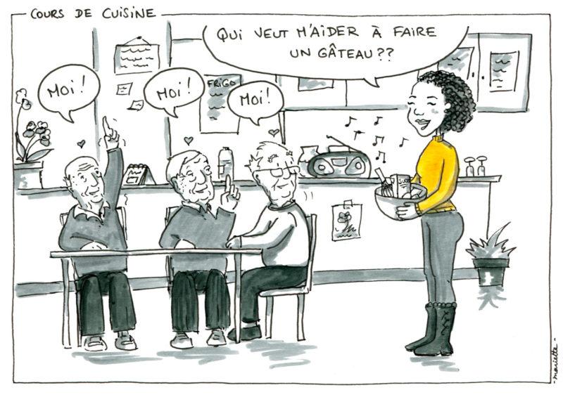 Seniors, Et Alors ? - Cours De Cuisine