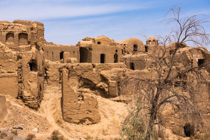 Urbex - Iran - Kharanaq, Le Village Historique Abandonné