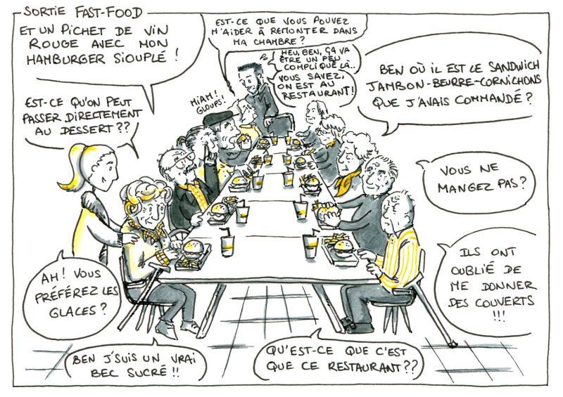 Seniors, Et Alors ? - Fastfood