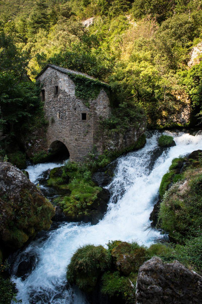 Moulins De La Foux, Larzac, France