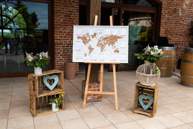 Décoration lieu de réception mariage - Photographes mariage Normandie, Rouen - M. et Mme Shoes